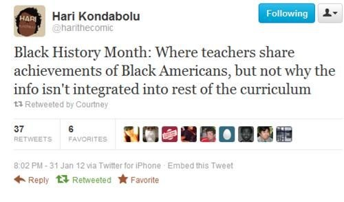 Black History Month,black,teachers,school,twitter