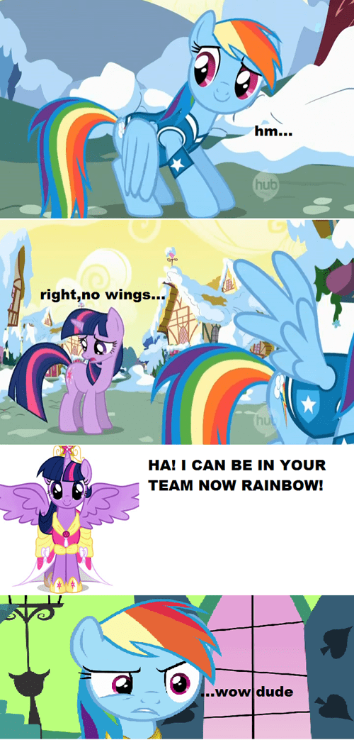wings twilight sparkle comic rainbow dash - 7047052032