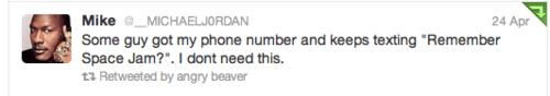 michael jordan toon squad tweet spacejam - 7047280384