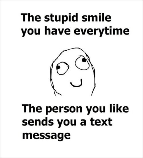 text message stupid smile relationships texting - 7047405568
