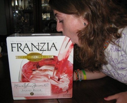 Not Even Once,wine,franzia