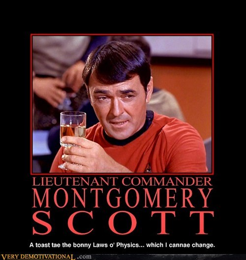 scotty,booze,phasers,Star Trek