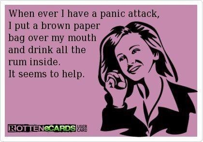 therapy Rum rotten ecards brown paper bag - 7047716096