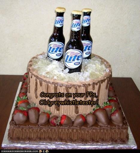 A special cake for OG!