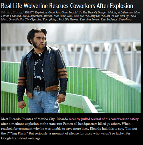 completely relevant news news BAMF wolverine - 7047941120