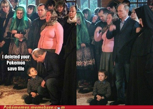 Sad kids IRL save file Putin