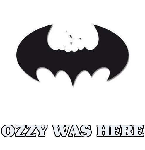 bats batman Ozzy Osbourne - 7048703744