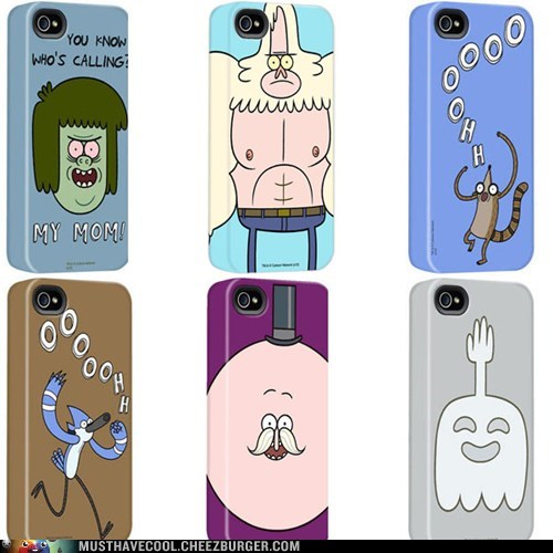 iPhones regular show cases
