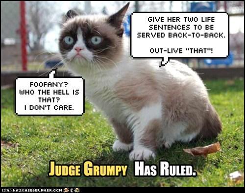 Judge Grumpy: Foofany