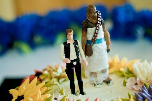 chewbacca cake toppers Han Solo wookiee - 7049010432