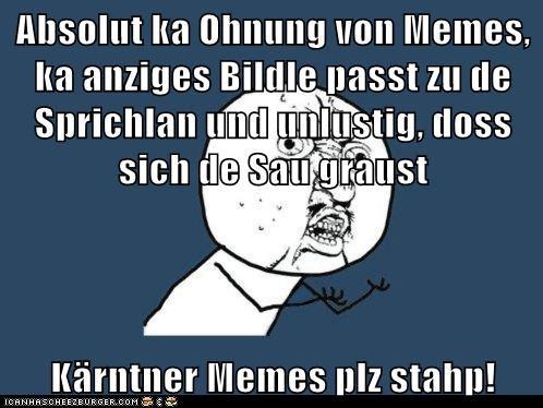 Absolut Ka Ohnung Von Memes Ka Anziges Bildle Passt Zu De Sprichlan