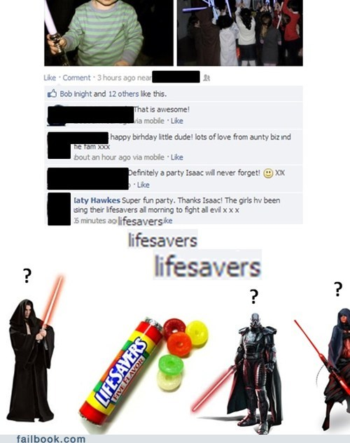 lightsaber star wars lifesaver - 7049983744