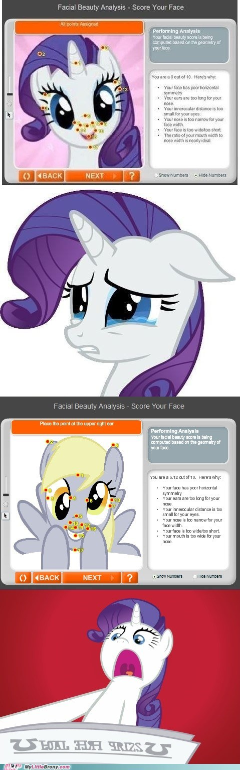 Sad poor rarity derpy hooves rarity - 7050003456