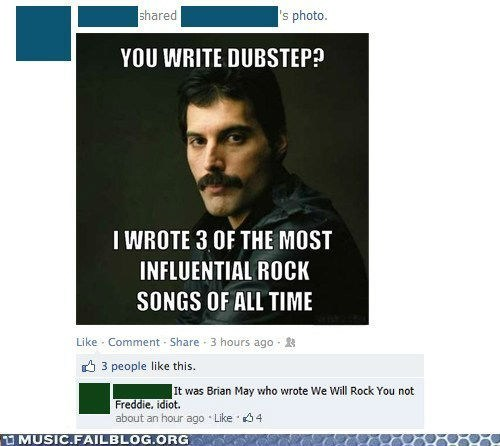 queen,freddie mercury,dubstep,facebook