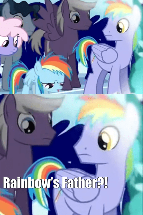 rainbow dad,family,rainbow dash,Father