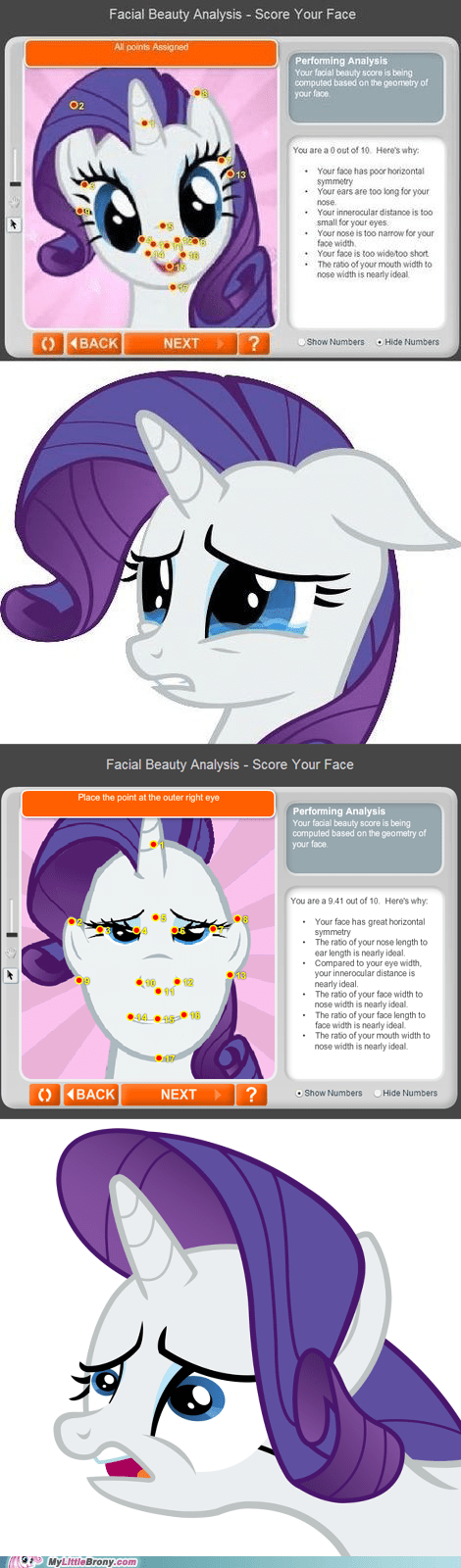 worst possible thing ever,rarity,facial beauty