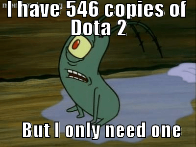 steam PC SpongeBob SquarePants dota 2 - 7050848512