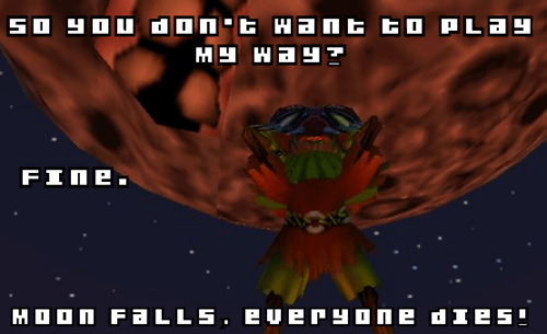 moon DM majoras mask zelda game over - 7051124736