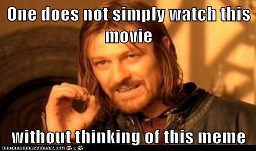 Lord of the Rings sean bean one does not simply Boromir meme - 7051909632