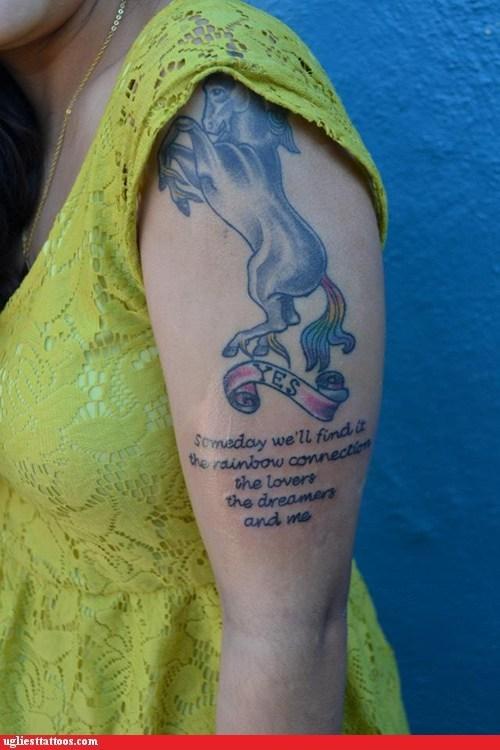 the muppets arm tattoos unicorns - 7052186624