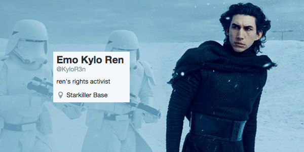 twitter star wars list kylo ren star wars vii - 705285