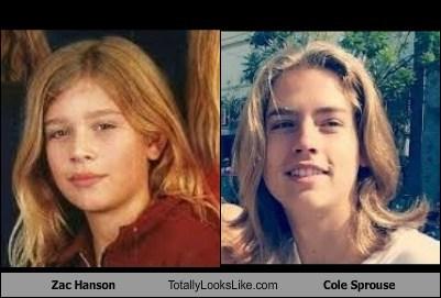 hair zac hanson TLL Hanson cole sprouse - 7052894208
