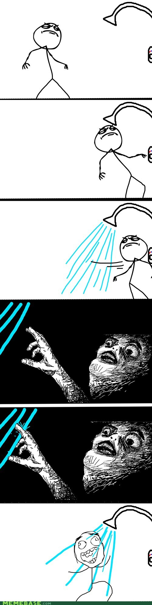 shower temp raisin face Rage Comics - 7053228032