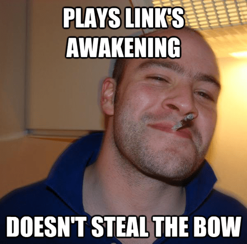 links-awakening Memes Good Guy Greg thief - 7053323520