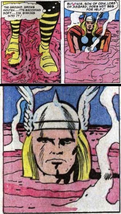 Thor help lava avengers - 7053702144