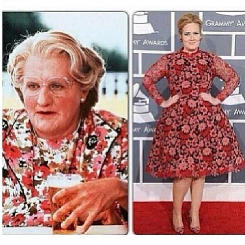 adele,dress,Grammys,totally looks like