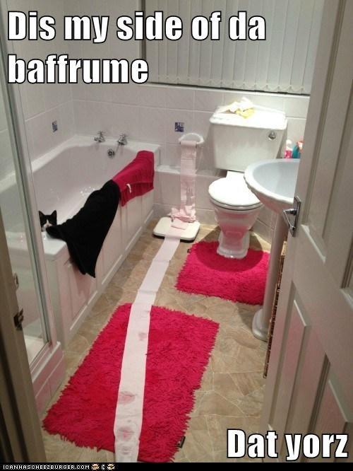 share bathroom Cats - 7054262272
