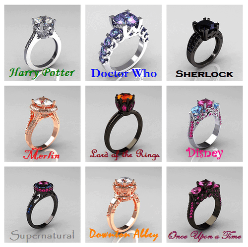 fandom engagement ring pop culture - 7054502144