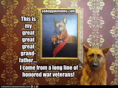 This is my great great great grand-father.... I come from a long line of honored war veterans! sodoggonefunny.com