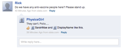 insensitive comments polio vaccine - 7055282688