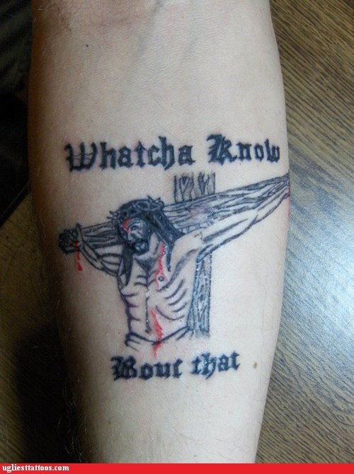 jesus,arm tattoos,religious