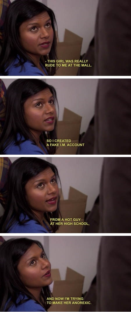 actor comic funny TV the office mindy kaling - 7055441408