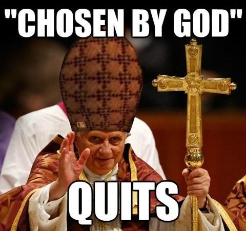 scumbag hat pope scumbag pope - 7055482112