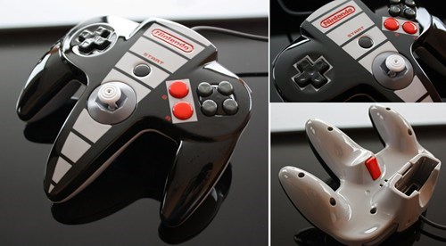 Would Be Awesome to See All Nintendo Controllers Re-skinned This Way