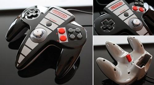 retro re-skin NES nintendo 64 classic nintendo - 7055520000