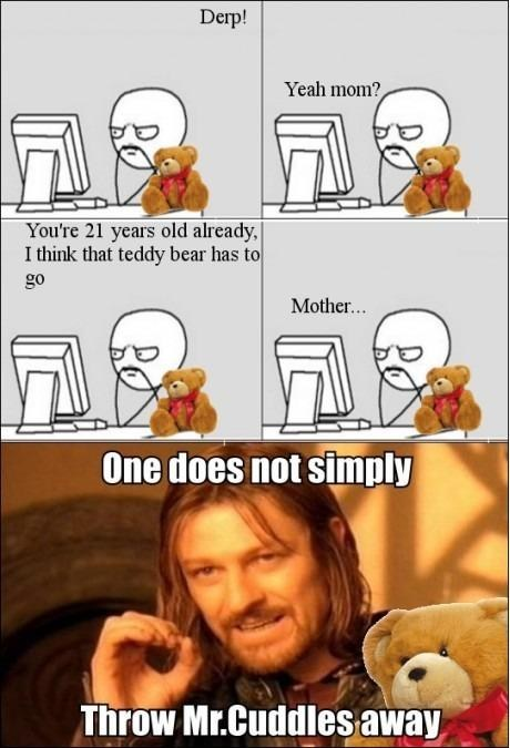 teddy bears,one does not simply meme,Rage Comics