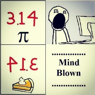 mind blown pi pie math - 7055592704