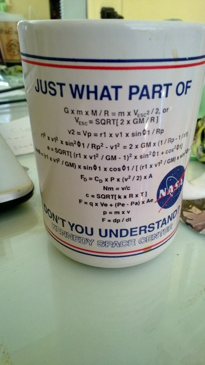 nasa,physics,cup,science,math,g rated,School of FAIL