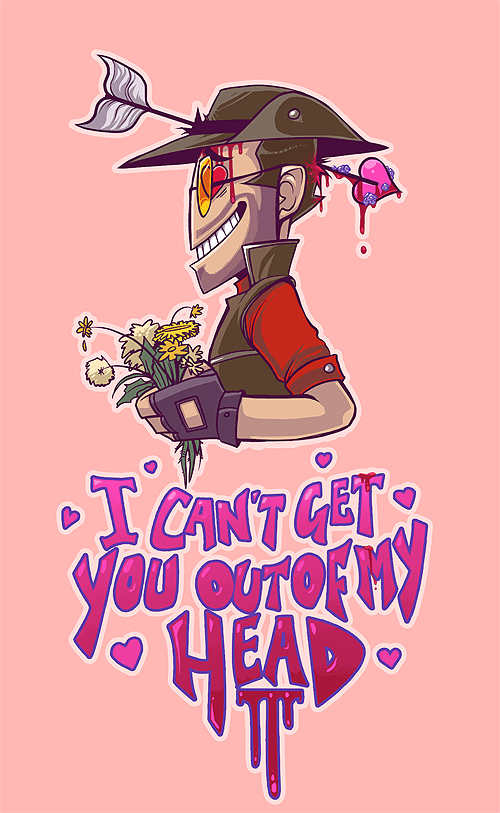 sniper,Team Fortress 2,Valentines day