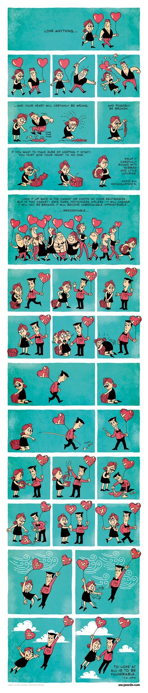comics cs lewis love zen pencils dating fails g rated - 7055755520