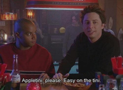 JD,scrubs,appletinis