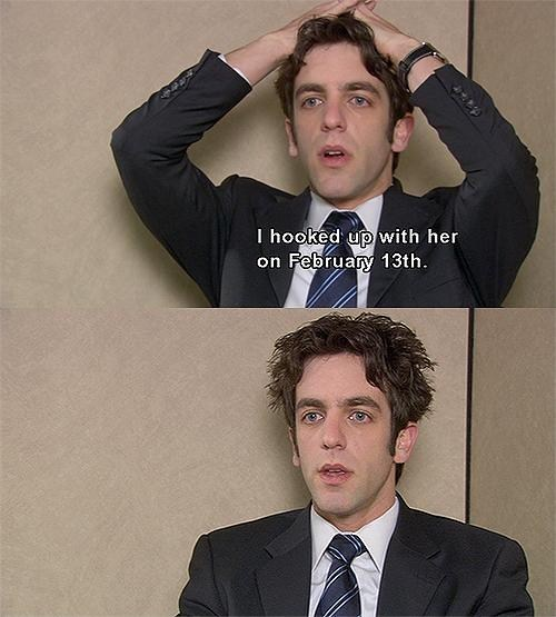 the office,bj novak,Valentines day