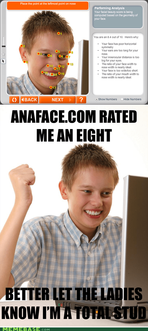 first day on the internet kid anaface Net Noob