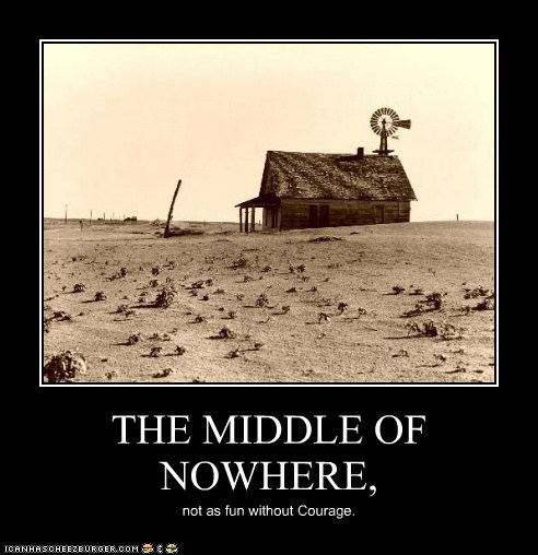 The Middle Of Nowhere Cheezburger Funny Memes Funny Pictures