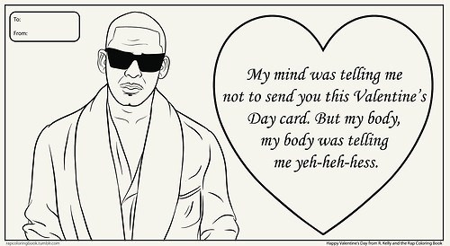 r kelly r&b valentine's day cards