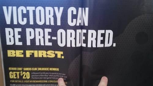pre-orders,victory,modern games